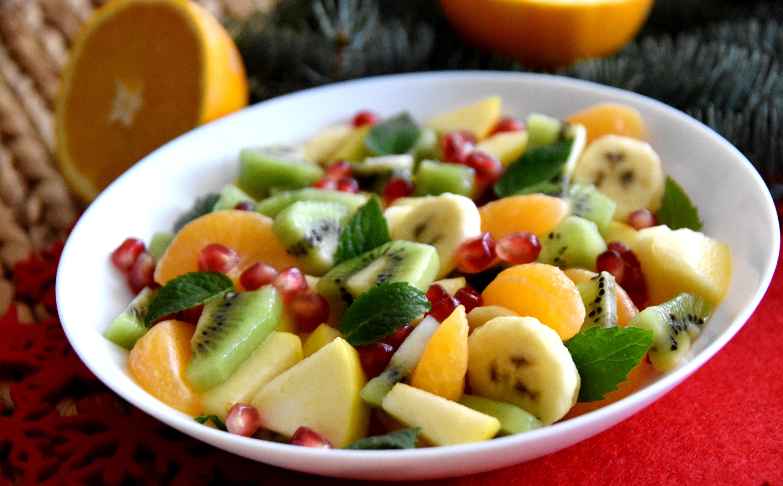Фруктовый салат постный рецепт